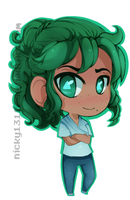 Maggie chibi by nicky1311