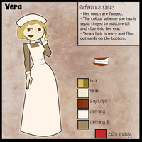DP: Reference sheet/bio: Vera by Echoheartx