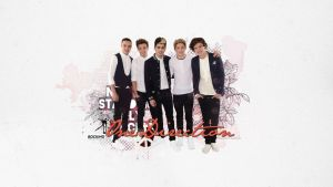 WP: One Direction by Mariesen