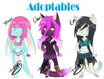 Adoptables set 3- OPEN- 10$ by Deevirus