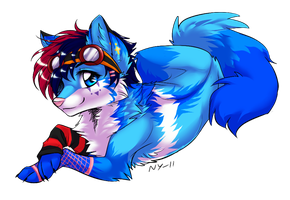 For Blue-eyewolf by Naragon