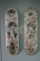edwardian skateboards set by mishra1218