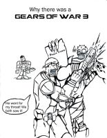 Why there was a Gears Of War 3 by EC-DarkMatter