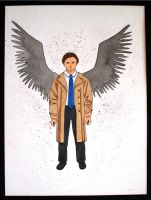 Castiel by Moonlight-The-Wolf