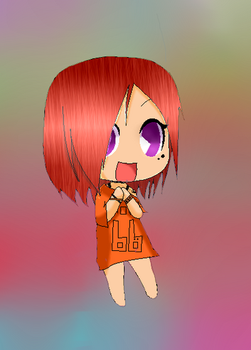 (Contest Prize) Chibi Harper by MMD1lover1