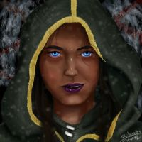 Kiara the Redguard by Zchanning