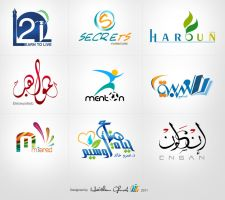 of my logos_ part 1 by HaithamGhorab