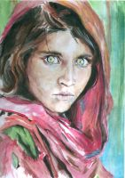 MORE DONE! Girl with the Green Eyes NG by LizabetSullivan
