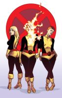 New Mutants by iliaskrzs