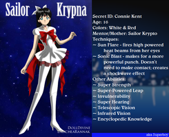 +Young Justice Scouts+ Sailor Krypna(Superboy) by phoenixtsukino