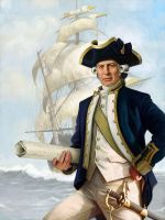 Captain Cook by carts