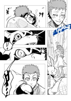 Digimon tamers: battle generation prologue pg04 by Riza23