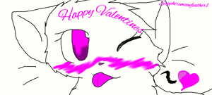 Happy Valentines :3 by SapphireMoonfeather1
