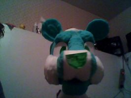Fursuit head WIP !! by snarlie