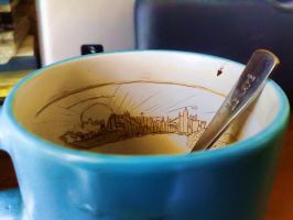 City in the cup by FoXsPhotos