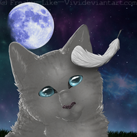 Jayfeather .Speedpaint. by Freaky--Like--Vivi