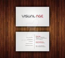 Visual Age Buisness Card 1 by IjinPL