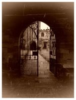 The church in the archway by Princess-Amy