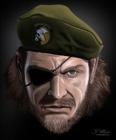 Metal Gear Solid Airbrush by JonAddison
