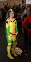 Cosplaying Rogue - X-Men:TAS by raphs-girl