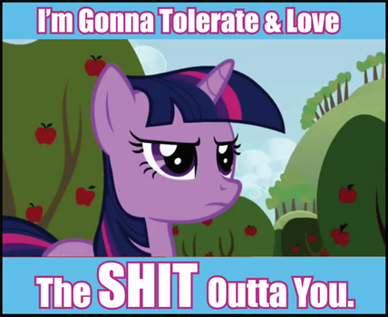 Tolerate and Love by shado013