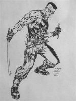 Blade Spiderguile Pencils by FanBoy67