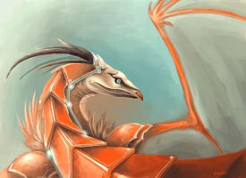Red Dragon by Landylachs