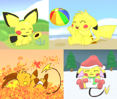 The Four Seasons by pichu90