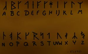 Viking Alphabet (Updated) by Venomari19