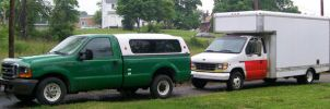 My Two Fords by LDLAWRENCE