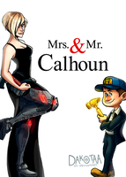 Mrs. and Mr. Calhoun by Dakotaa