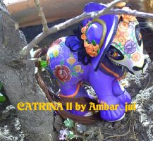 My little custom catrina II by AmbarJulieta