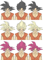 Son Goku's new Resurrection F form? by The-Devils-Corpse