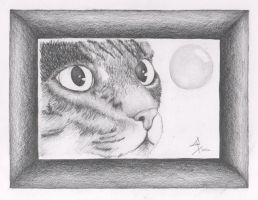 cat face by Abstract-scientist