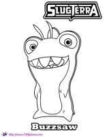 SlugTerra Thresher Buzzsaw coloring page by SKGaleana