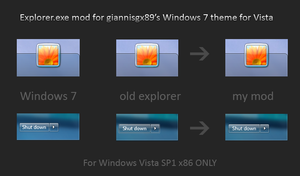 Win 7 Explorer mod for Vista by balderoine