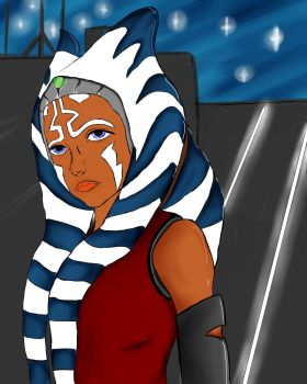 ahsoka tano by Nightmare220