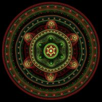 Fractal Coin_50 by BrotherNumsi