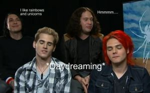 The MCR Interview Faces xD by AmeliaKader