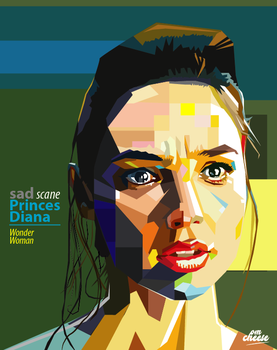 Sad scane Diane Princes-Wonder woman. by krosch