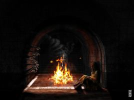 The fireplace by Rcontrol