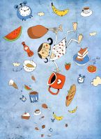 dream of food... by mohamed77