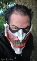 Leather Joker Half Mask by Epic-Leather