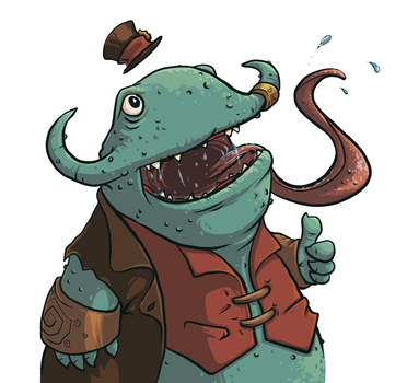 Kench by oinkfrog
