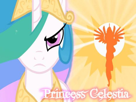 BG My Little Pony FIM Princess Celestia by Moonofthedarknight