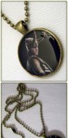 The Avengers: Loki Necklace by cyborgseamstress