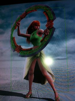 Soul Calibur V: Izzy and her New Toy by SamLover88