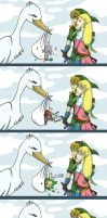 Zelda: The Stork by Kilala04