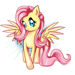 Fluttershy - i'm so happy by PauuhAnthoTheCat