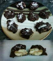 chocolate caramel cookies by Denial-of-a-Failure